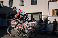 Brent Van Moer (BEL)<br /> <br /> MEN UNDER 23 ROAD RACE<br /> Kufstein to Innsbruck: 180 km<br /> <br /> UCI 2018 Road World Championships<br /> Innsbruck - Tirol / Austria