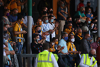 8th September 2020; Abbey Stadium, Cambridge, Cambridgeshire, England; EFL Trophy Football, Cambridge United versus Fulham Under 21; Cambridge Utd fans fill one the stands during the game
