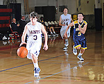 Images from both boys and girls Upper School basketball action between St. Martin's Episcopal and Ridgewood Prep. Games were played in the Adkerson Gymnasium and two strobes placed at one end of the court were used.