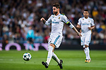 Sergio Ramos of Real Madrid in action during the UEFA Champions League 2017-18 match between Real Madrid and Tottenham Hotspur FC at Estadio Santiago Bernabeu on 17 October 2017 in Madrid, Spain. Photo by Diego Gonzalez / Power Sport Images