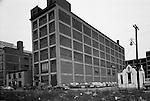 Pittsburgh PA:  General Electric Supply Building on the North Side of Pittsburgh.