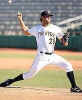Brian Leach - Mesa Solar Sox - 2010 Arizona Fall League.Photo by:  Bill Mitchell/Four Seam Images..