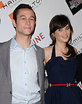 Joseph Gordon-Levitt & Zooey Deschanel at The Movieline.com Presentation of The 4th Annual Hamilton Behind the Camera Awards held at The Highlands in Hollywood, California on November 08,2009                                                                   Copyright 2009 DVS / RockinExposures
