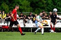 LEEK - Voetbal, Pelikaan S - FC Groningen , voorbereiding seizoen 2021-2022, oefenduel, 03-07-2021,  FC Groningen speler Gabriel Gudmundsson zet voor