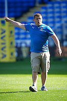 Toby Booth, Bath Rugby 1st Team Coach, before the Aviva Premiership match between London Irish and Bath Rugby at the Madejski Stadium on Saturday 22nd September 2012 (Photo by Rob Munro)