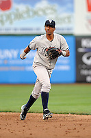 Staten Island Yankees infielder Jose Rosario (31) during game against the Brooklyn Cyclones at MCU Park on June 18, 2012 in Brooklyn, NY.  Brooklyn defeated Staten Island 2-0.  Tomasso DeRosa/Four Seam Images