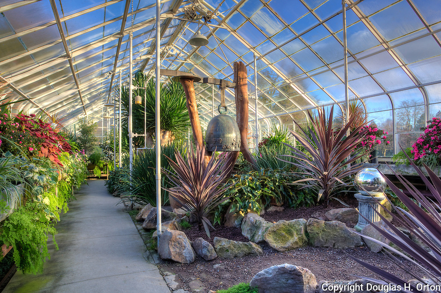 Volunteer Park Conservatory in Seattle, WA.  One of only three conservatories on the U.S. West Coast, the conservatory is located in Volunteer Park, an Olmstead designed park.  Opened in 1912.
