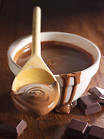 Melted chocolate