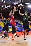 LLIGA NACIONAL CATALANA ACB 2020 AON.<br /> Baixi Manresa vs Club Joventut Badalona: 79-93.<br /> Seth Hinrichs vs Ante Tomic.