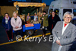Residents of Rae St bungalows standing at the St Johns Church mobile crib which visited the residents on Saturday. Front: Phyllis McLoughlin. Back l to r: Annette O'Sullivan, Cordelia O'Shea, Theresa and Megan Moriarty.