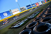 Monster Energy NASCAR Cup Series<br /> Monster Energy NASCAR All-Star Race<br /> Charlotte Motor Speedway, Concord, NC USA<br /> Saturday 20 May 2017<br /> Denny Hamlin, Joe Gibbs Racing, FedEx Ground Toyota Camry and Jamie McMurray, Chip Ganassi Racing, McDonald's Chevrolet SS<br /> World Copyright: Nigel Kinrade<br /> LAT Images<br /> ref: Digital Image 17CLT1nk06091
