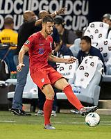 KANSAS CITY, KS - JUNE 26: Matt Miazga #19 during a game between Panama and USMNT at Children's Mercy Park on June 26, 2019 in Kansas City, Kansas.