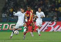 Ghana defeated the U.S., 2-1, in extra time to advance to the quarterfinals, Saturday, June 26th, at the 2010 FIFA World Cup in South Africa..