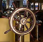 Nautical Steering Wheel, La Dorado Restaurant, Miami, Florida
