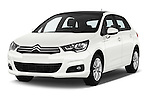 2016 Citroen C4 Feel 5 Door Hatchback Angular Front stock photos of front three quarter view