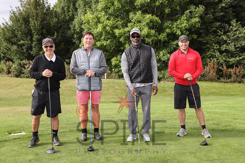 Pictured from left are the CEMA Ltd team: Frank Ciaurro, David Armitage, Martin Baker and Simon Leadley