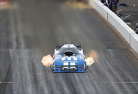 Feb 21, 2020; Chandler, Arizona, USA; NHRA funny car driver Matt Hagan during qualifying for the Arizona Nationals at Wild Horse Pass Motorsports Park. Mandatory Credit: Mark J. Rebilas-USA TODAY Sports