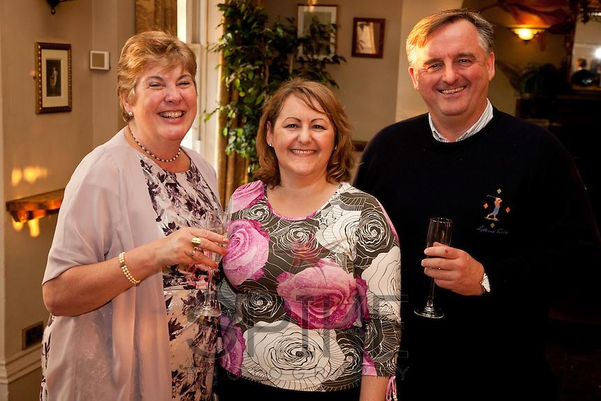Pictured are Pauline Nicholls (left) of Deloitte, Deborah Labbate of Star Coaching and Andrew Nicholls