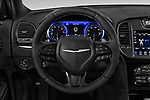 Car pictures of steering wheel view of a 2019 Chrysler 300 S 4 Door Sedan