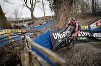 Michael Vanthourenhout (BEL/Pauwels Sauzen-Bingoal)<br /> <br /> 2021 Flandriencross Hamme (BEL)<br /> Men's Race<br /> <br /> ©kramon