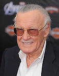 Stan Lee at Marvel's The Avengers World Premiere held at The El Capitan Theatre in Hollywood, California on April 11,2012                                                                               © 2012 DVS/Hollywood Press Agency