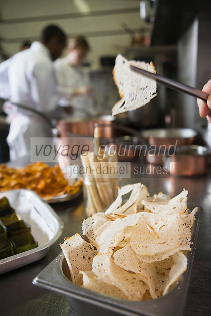 "Europe/France/Rhone-Alpes/73/Savoie/St-Marcel: Hotel-restaurant ""La Bouitte""    En cuisine"