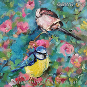 Simon, REALISTIC ANIMALS, REALISTISCHE TIERE, ANIMALES REALISTICOS, innovativ, paintings+++++SueGardner_TwoTits,GBWR372,#a#, EVERYDAY