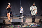 Sarah Barthel; Big Boi; Josh Carter; Big Grams; Live: 2016<br /> Photo Credit: JOSH WITHERS/ATLASICONS.COM