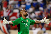 Harrison, NJ - Friday July 07, 2017: Patrick Pemberton during a 2017 CONCACAF Gold Cup Group A match between the men's national teams of Honduras (HON) vs Costa Rica (CRC) at Red Bull Arena.