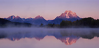 Oxbow Bend at dawn, Grand Teton NP,Wyoming, September 2005