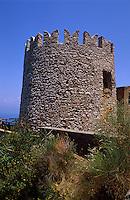 Italien, Capri, Wehrturm Torre Damecuta