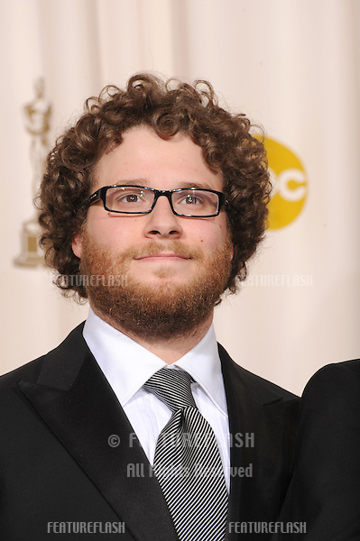 Seth Rogen at the 80th Annual Academy Awards at the Kodak Theatre, Hollywood, CA..February 24, 2008 Los Angeles, CA.Picture: Paul Smith / Featureflash