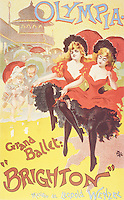 Reproduction of a poster advertising the ballet 'Brighton', Theatre Olympia, 1893 (colour litho), Pal (Jean de Paleologue) (1855-1942)