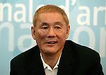 Mostra Internazionale del Cinema di Venezia, Venice Film Festival, 2003.Takeshi Kitano