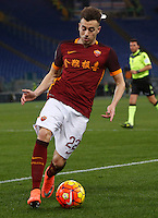 Calcio, Serie A: Roma vs Sampdoria. Roma, stadio Olimpico, 7 febbraio 2016.<br /> Roma's Stephan El Shaarawy in action during the Italian Serie A football match between Roma and Sampdoria at Rome's Olympic stadium, 7 January 2016.<br /> UPDATE IMAGES PRESS/Riccardo De Luca