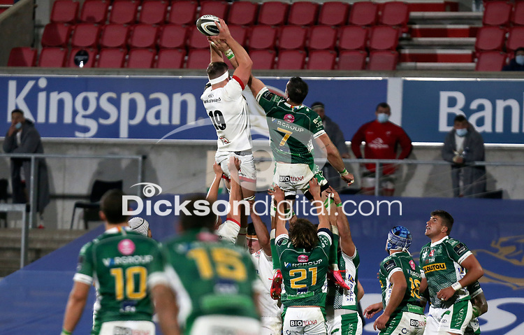 Friday 2nd October 2020 | Ulster Rugby vs Benetton Rugby<br /> <br /> David O'Connor during the PRO14 Round 1 clash between Ulster Rugby and Benetton Rugby at Kingspan Stadium, Ravenhill Park, Belfast, Northern Ireland. Photo by John Dickson / Dicksondigital
