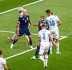 14.06.2021 Scotland v Czech Republic:  Patrik Schick scores for Czech Republic