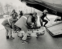 1987 FILE PHOTO - ARCHIVES -<br /> <br /> Aircraft accidents <br /> <br /> 1987<br /> <br /> PHOTO :  Erin Comb - Toronto Star Archives - AQP