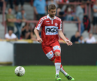 20160723 - KORTRIJK , BELGIUM : Kortrijk's Tomislav Barbaric  pictured during a friendly game between KV Kortrijk and Krylia Sovetov SAMARA during the preparations for the 2016-2017 season , Saturday 23 July 2016 ,  PHOTO David Catry   Sportpix.Be