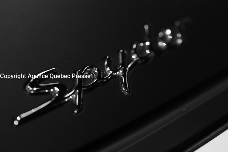 2016 model at Montreal car show. January 15, 2016<br /> <br /> Photo : Pierre Roussel - Agence Quebec Presse<br /> <br /> <br /> <br /> <br /> <br /> <br /> <br /> <br /> <br /> <br /> <br /> .