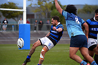 Action from the Horowhenua-Kapiti premier reserve club rugby union final between Levin College Old Boys and Athletic at Levin Domain in Levin, New Zealand on Saturday, 10 July 2021. Photo: Dave Lintott / lintottphoto.co.nz