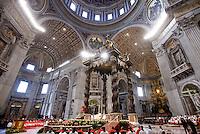 20150214 VATICANO: PAPA FRANCESCO CELEBRA IL CONCISTORO PER LA CREAZIONE DI 20 NUOVI CARDINALI
