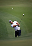 Ryan Moore during the second round of the Quail Hollow Championship