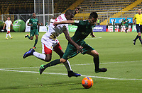 BOGOTA -COLOMBIA, 22-05-2017.Action game between  La Equidad and Rionegro Aguilas during match for the date 19 of the Aguila League I 2017 played at Metroplitano of Techo stadium . Photo:VizzorImage / Felipe Caicedo  / Staff