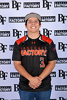 Jose Belo (3) of Vanden High School in Vacaville, California during the Baseball Factory All-America Pre-Season Tournament, powered by Under Armour, on January 12, 2018 at Sloan Park Complex in Mesa, Arizona.  (Mike Janes/Four Seam Images)