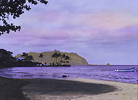 Kaneohe bay with mokolii island, commanly known as chinaman's hat