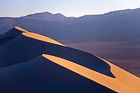 UNUSUAL SAND FORMATIONS AT EUREKA DUNES AT DEATH VALLEY NATIONAL PARK, CALIFORNIA