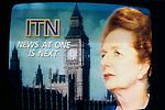 Mrs Thatcher resignation speech House of Commons 22 11 1990 as shown on TV live. 1990s UK