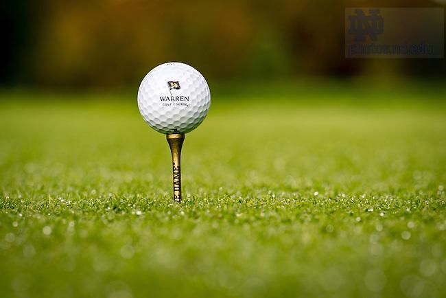 October 13, 2016; Warren Golf Course (Photo by Matt Cashore/University of Notre Dame)