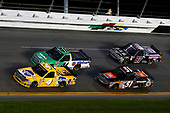 NASCAR Camping World Truck Series<br /> NextEra Energy Resources 250<br /> Daytona International Speedway, Daytona Beach, FL USA<br /> Friday 16 February 2018<br /> David Gilliland, Kyle Busch Motorsports, Pedigree Toyota Tundra and Ben Rhodes, ThorSport Racing, Alpha Energy Solutions/Ride TV Ford F-150<br /> World Copyright: Russell LaBounty<br /> LAT Images